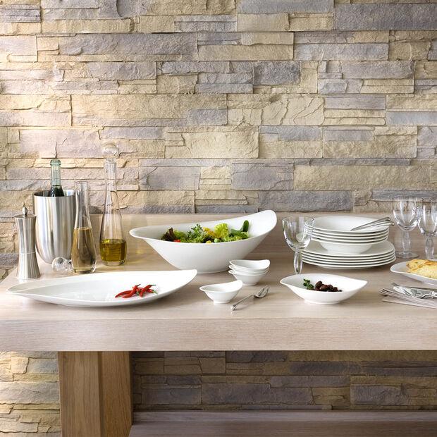 New Cottage Special Serve Salad insalatiera 45x31 cm, , large