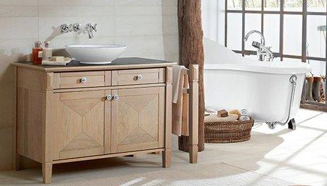 Set bagno in legno su misura u legnami