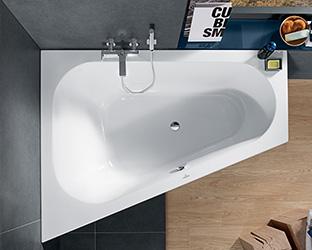 Vasca Da Bagno Incasso Ovale : Vasche da bagno villeroy & boch