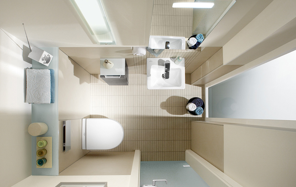 Creare il bagno con villeroy & boch