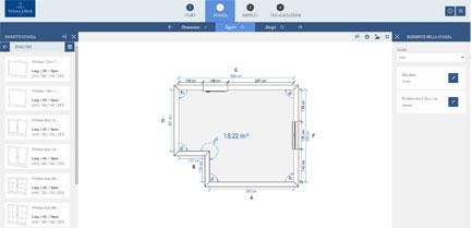 passo 2 programma di progettazione bagni online requisiti architettonici