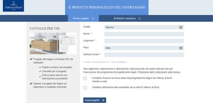 passo 4 programma di progettazione bagni online la vostra progettazione bagno