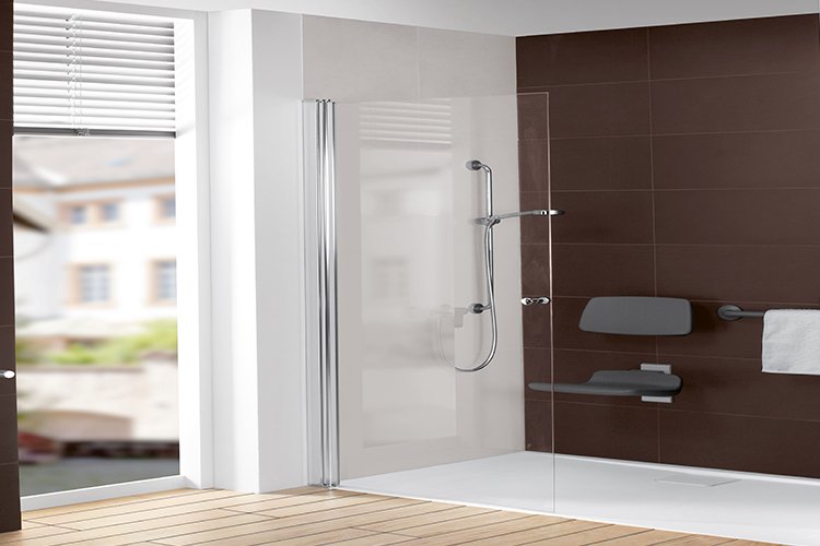 Design Bagno Con Doccia : Bagno senza barriere con villeroy & boch