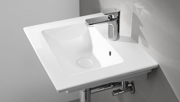 Piccolo bagno con doccia soluzioni per il vostro spazio villeroy boch - Villeroy boch piastrelle ...