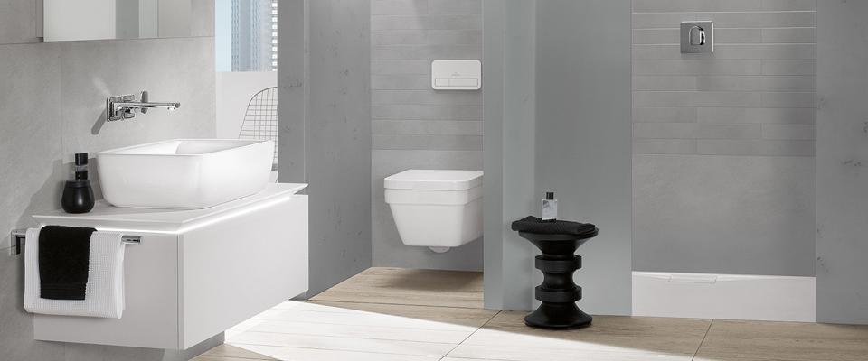 il bagno piccolo con doccia