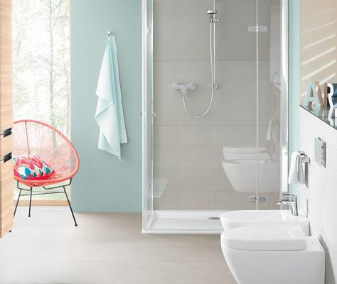 Piccolo bagno con doccia - Soluzioni per il vostro spazio - Villeroy ...