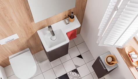Bagni Con Doccia Foto : Piccolo bagno con doccia soluzioni per il vostro spazio villeroy