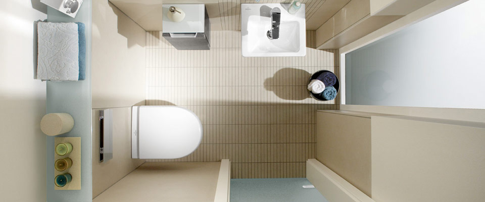 Bagno per gli ospiti di Villeroy & Boch - le soluzioni giuste