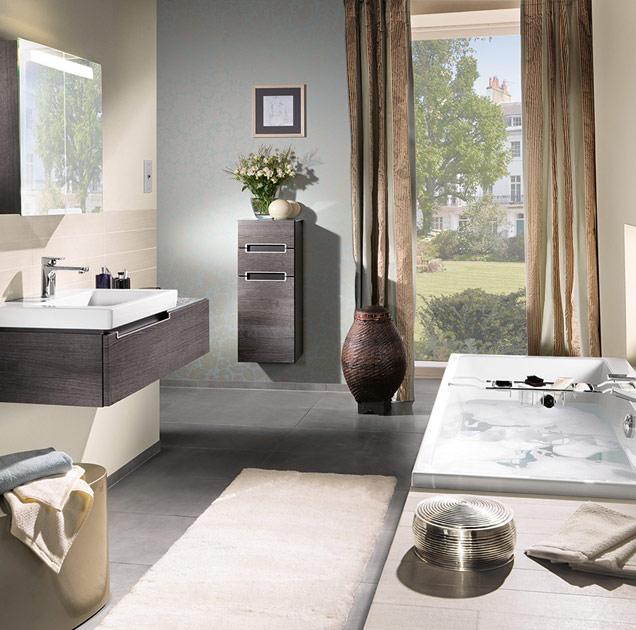 Allestire un piccolo bagno con vasca - Villeroy & Boch