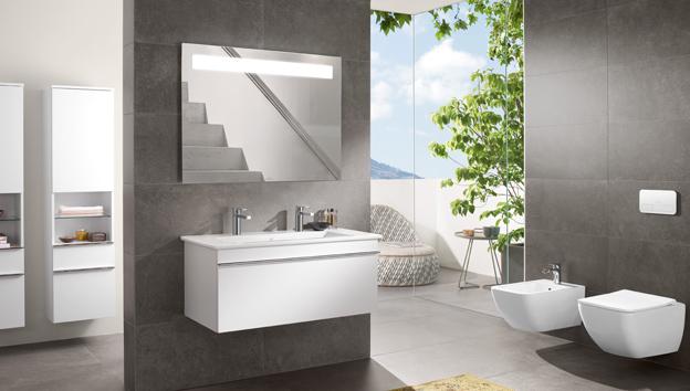Utilizzare correttamente le luci in bagno villeroy boch