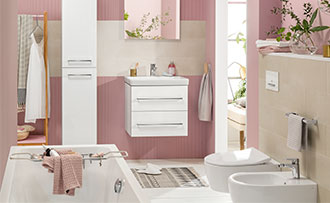 Allestire un piccolo bagno con vasca villeroy & boch