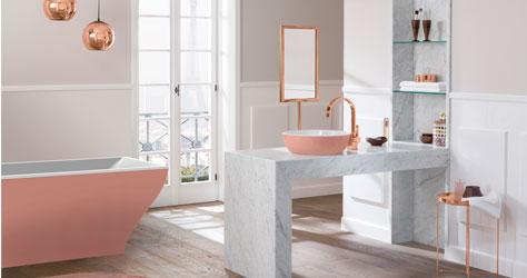 La belle la nuova eleganza del romanticismo - Vasca da bagno villeroy e boch ...