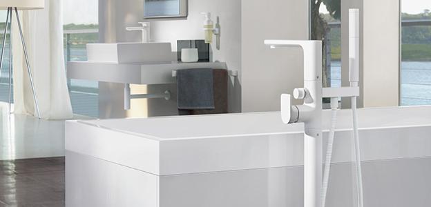 Rubinetteria per vasche da bagno di Villeroy & Boch - Design purista