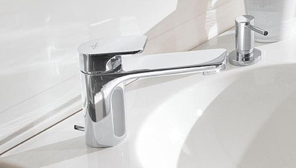 Rubinetteria da bagno tocchi di design villeroy & boch