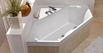 vasche da bagno esagonali squaro
