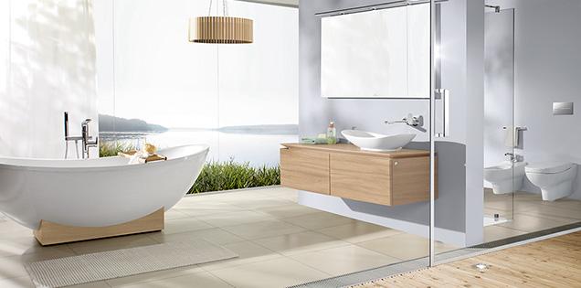 un design del bagno armonioso in base allo spazio ad esempio potete completare un armadietto sottolavabo con altri armadietti della stessa collezione