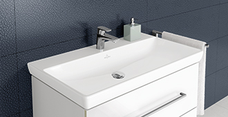Lavabi e lavandini bagni di stile villeroy boch - Bagno piccolissimo misure ...