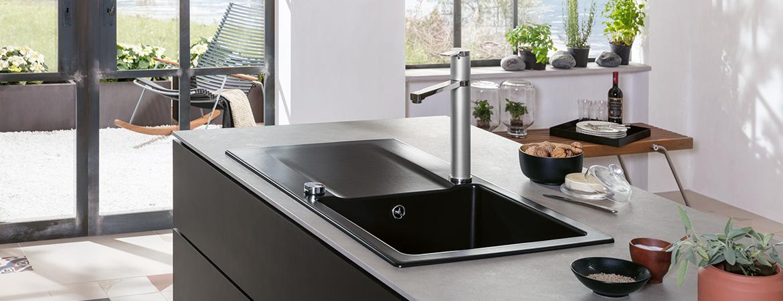 Lavello Cucina Ceramica Da Appoggio. Elegante Di Lavello Cucina In ...