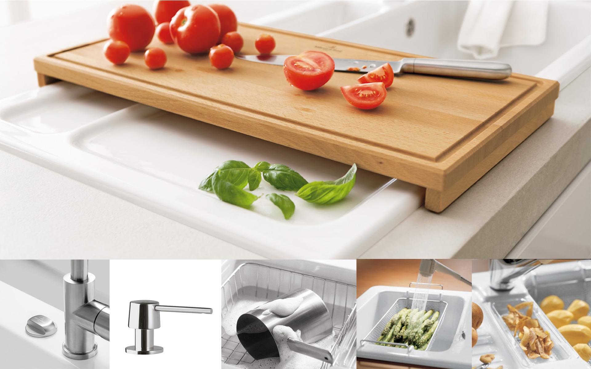 Design Keukenaccessoires : Accessori per la cucina Villeroy & Boch ? Divertirsi in cucina