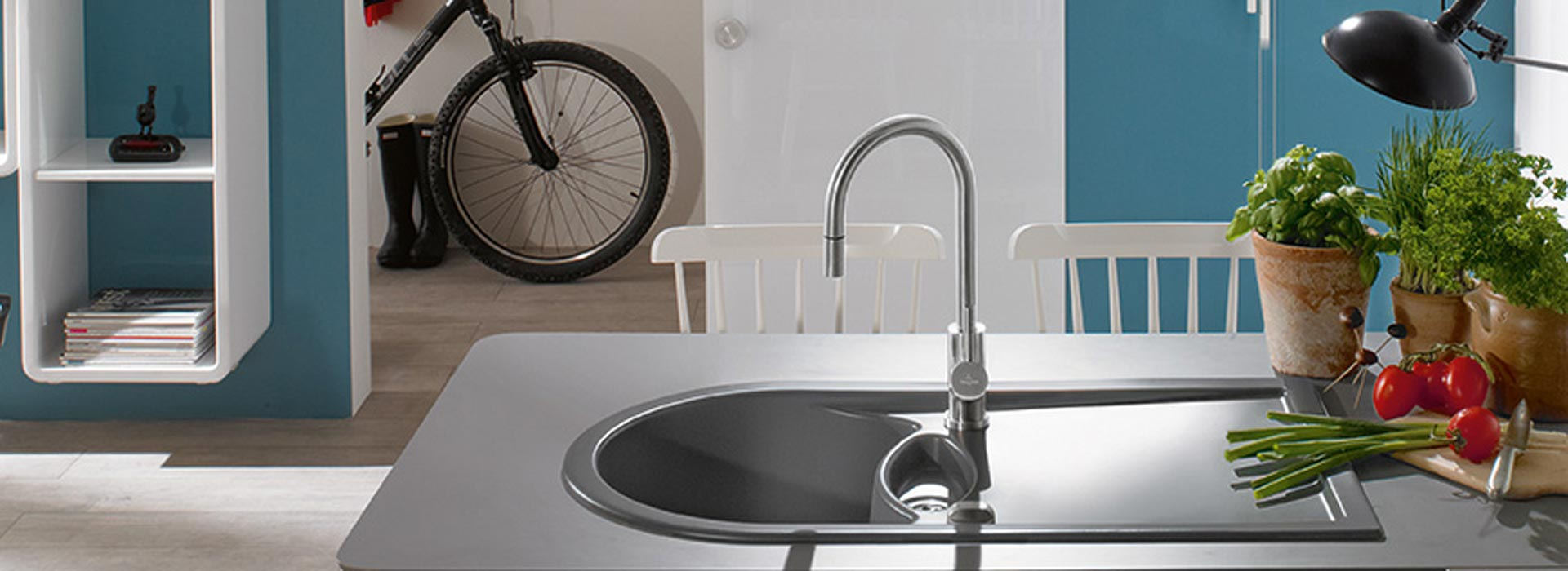 Rubinetti da cucina di design Villeroy & Boch