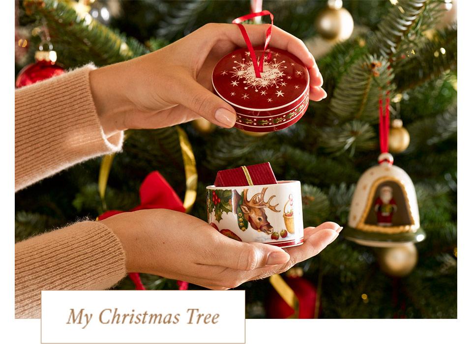 Decorazioni e addobbi natalizi di villeroy boch