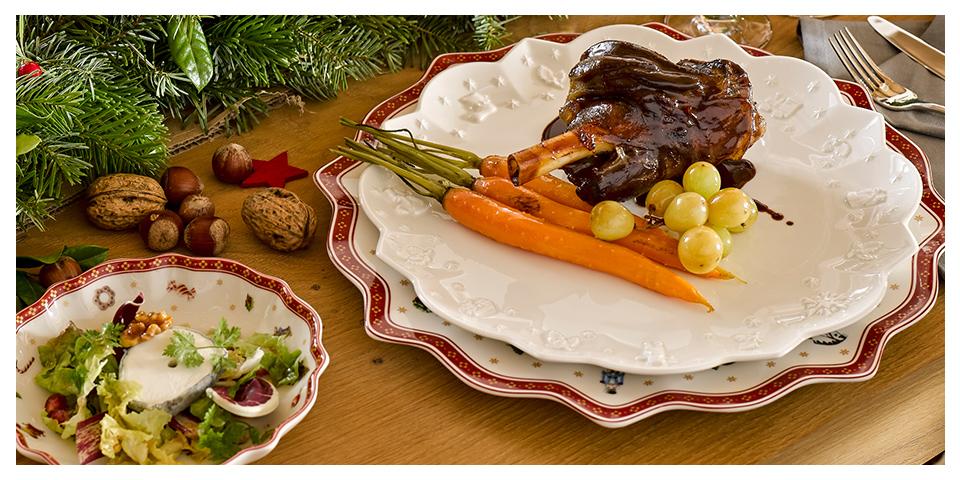 Cena di Natale: Con Villeroy & Boch la cena di Natale sarà un successo