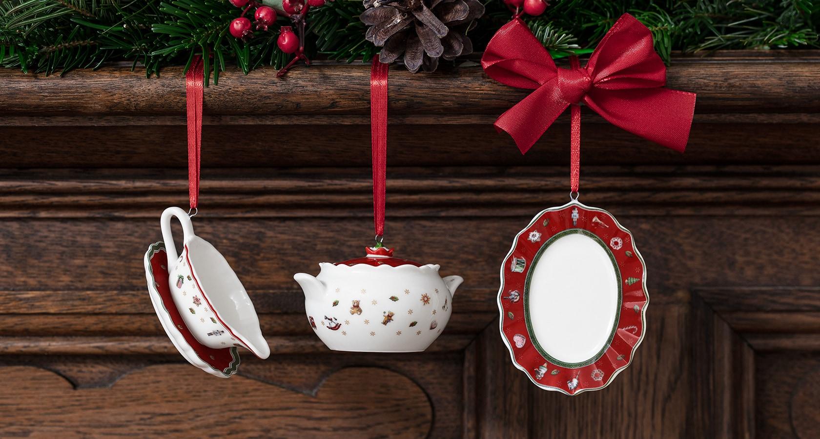 Addobbi Natale Villeroy Boch.Addobbi Natalizi Palle Di Natale E Raffinati Addobbi Per L Albero