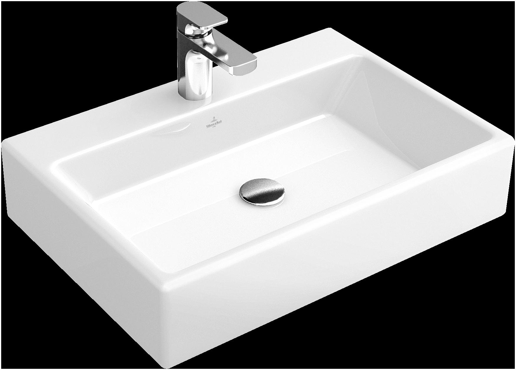 lavabo da appoggio rettangolare quadrato
