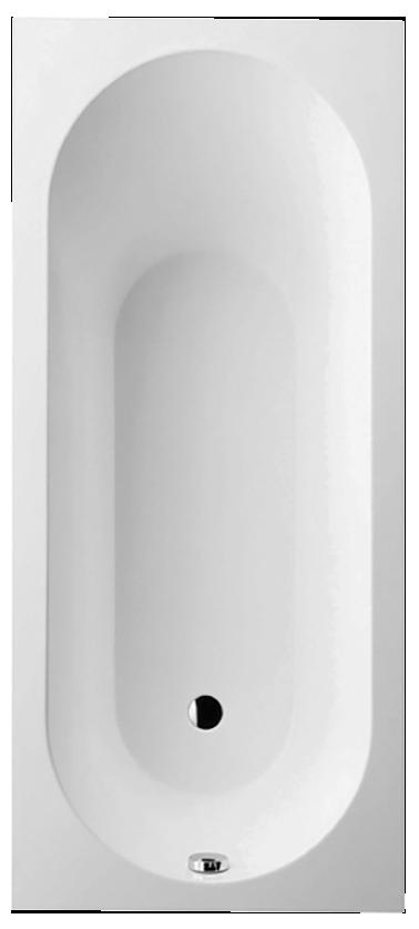 Oberon vasca da bagno rettangolare ubq170obe2v villeroy boch - Vasca da bagno villeroy e boch ...